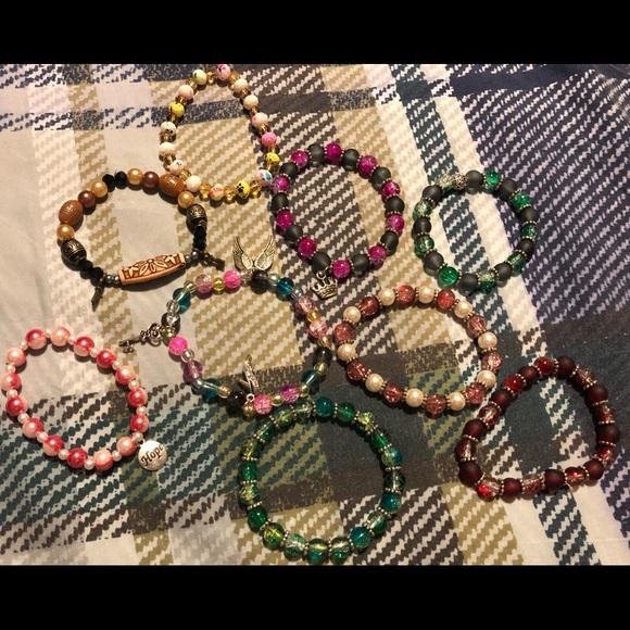 Jewelry - Lot 2 ** 9 home made bracelets